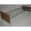 металлические кровати одноярусные и двухъярусные,  кровати металлические для вагончиков и турбаз,  металлические кровати оптом