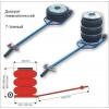 Домкрат пневматический для грузового шиномонтажа