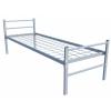 Кровати железные одноярусные для санаториев,  кровати металлические двухъярусные для бытовок.