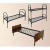 Металлические армейские кровати,  трехъярусные кровати
