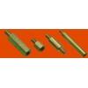 Стойка установочная крепежная круглая со шлицем и резьбовыми отверстиями ГОСТ 20867-81
