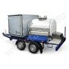 Торговый прицеп,   прицеп-гибрид,   комбинированный прицеп с цистерной и фургоном