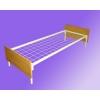 Шиpoкий выбор металлических кроватей,  одноярусные железные кровати