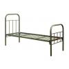 металлические кровати одноярусные и двухъярусные,    металлические кровати для вагончиков и лагерей оптом